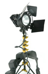 Vista-Vision: Equipment-Profis, Lowel ID Light